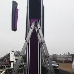 Installation of a watchfire EMC into a church pylon sign