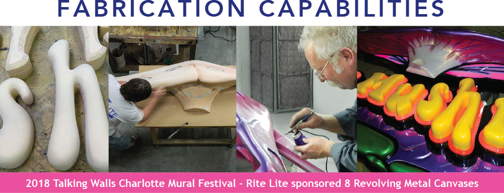 RiteLite Creative feeds into the Fabrication Department